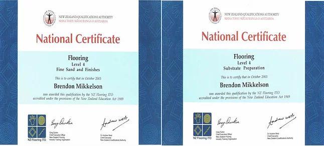 National Certificate in Flooring